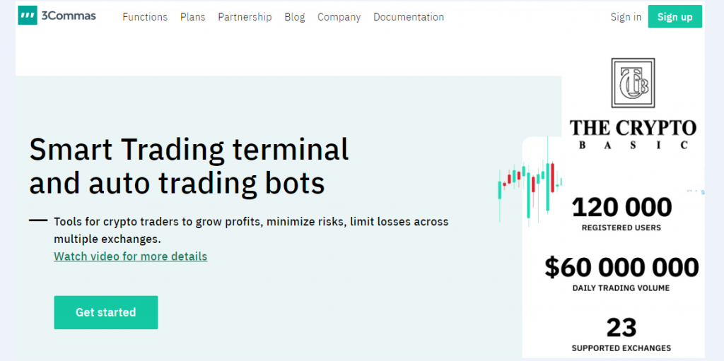3Commas Review 2020-Best crypto trading bot
