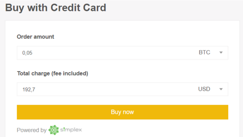 How to buy Bitcoin on Binance exchange with a credit card 2