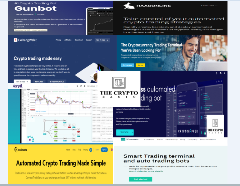 Best Crypto Trading Bot-Top 17 Best Crypto Trading Bot
