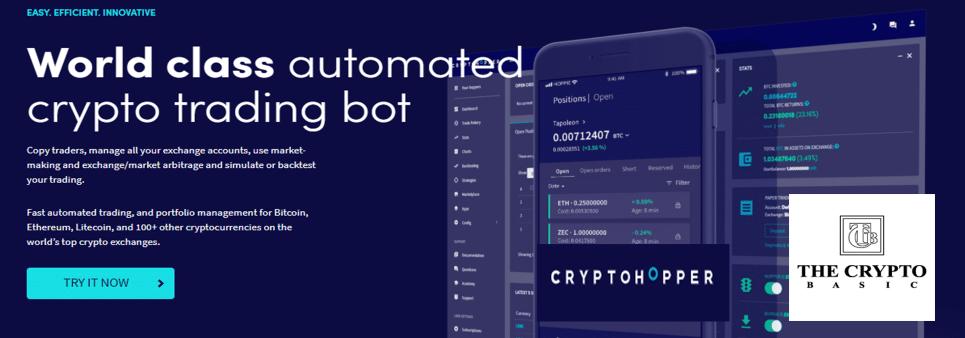 Cryptohopper trading bot Review 2020