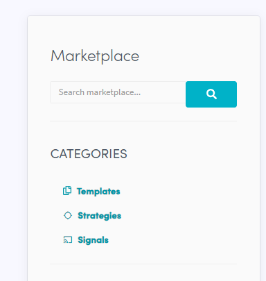 cryptohopper marketplace