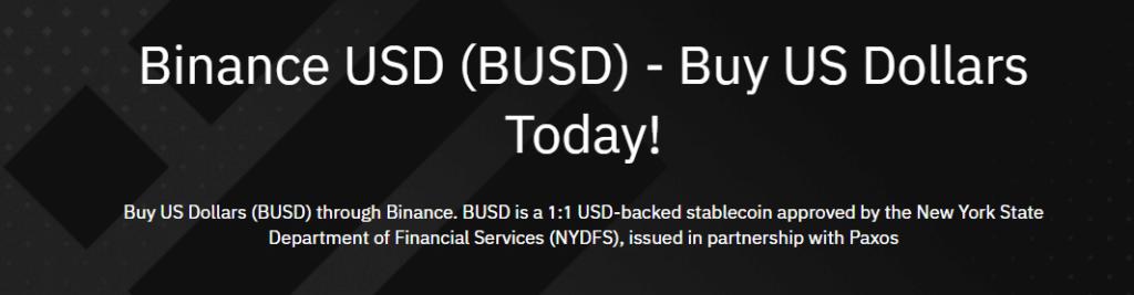 binance usd BUSD