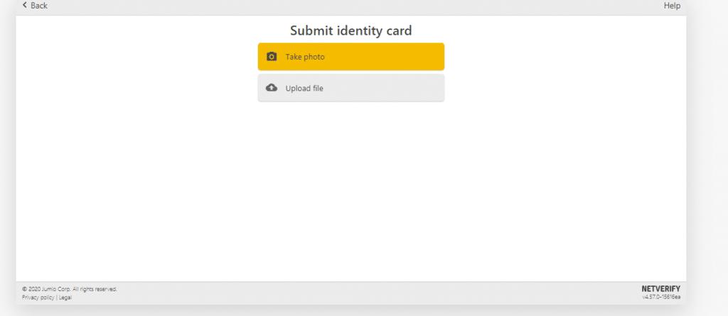 id verification on binance exchange 2