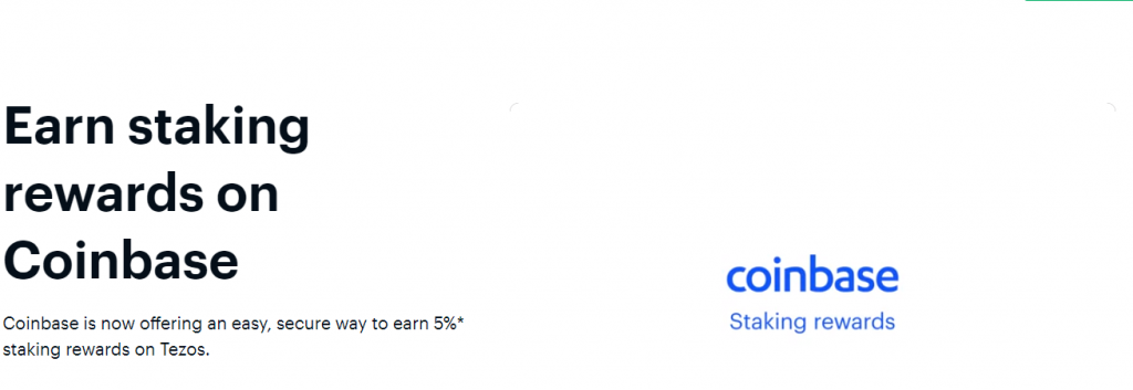 coinbase staking