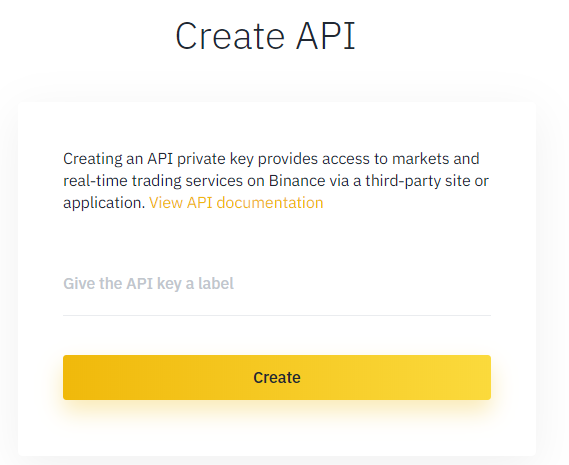 coinrulereview-how to create binance Api key