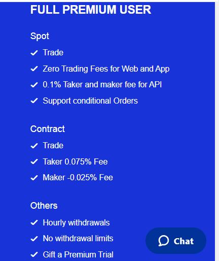 premium user advantages