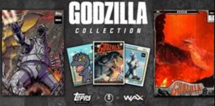 Godzilla, Mosra, Radon, Mecha Godzilla, and King Gidora will appear as NFT
