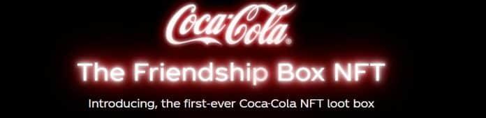 coca cola first ever NFT loot box