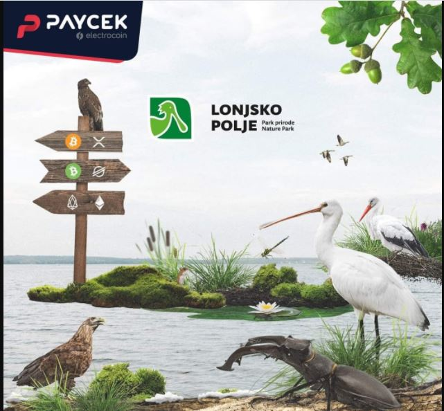 crotia nature park to accept BTC