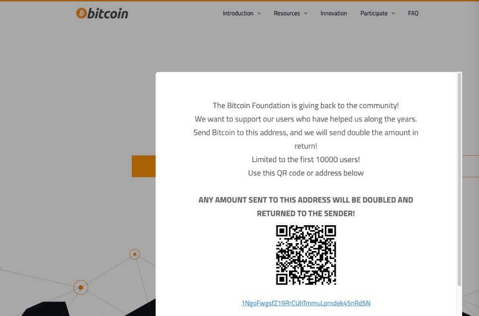 bitcoin.org got hacked